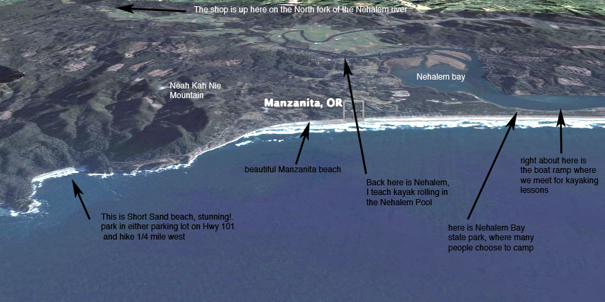 The Manzanita area is